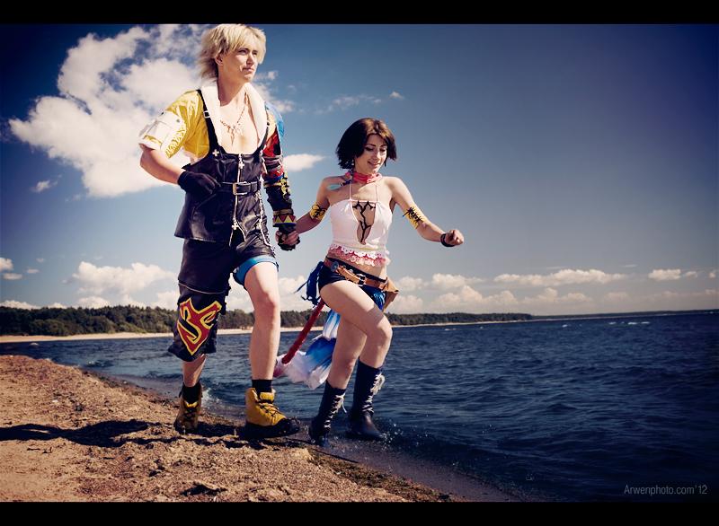 Happy end - Final Fantasy X-2 by Aoki-Lifestream