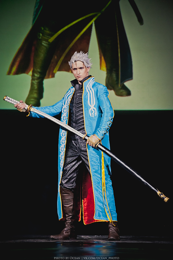 Devil May Cry 3 - Vergil: On Stage by Aoki-Lifestream