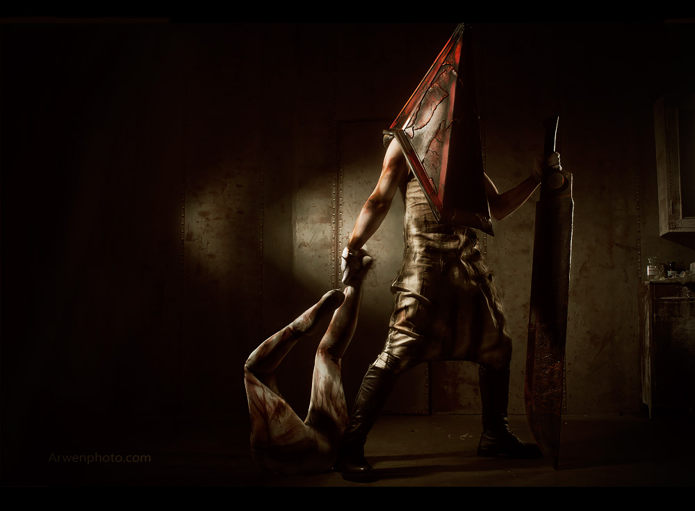 silent hill 2 pyramid head ending relationship