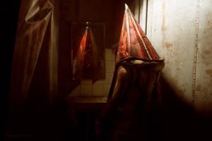 Silent Hill 2 - Pyramid Head by Aoki-Lifestream