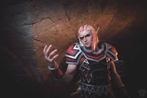 Krasus cosplay - World of Warcraft by Aoki-Lifestream