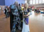 Arthas and Jaina at Comic Con Saint Petersburg by Aoki-Lifestream