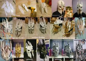 World of Warcraft - Lich King helmet progress