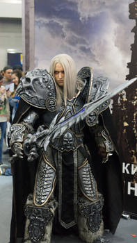 Arthas cosplay