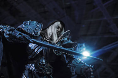 Warcraft - Arthas cosplay