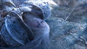 Arthas - No king rules forever by Aoki-Lifestream