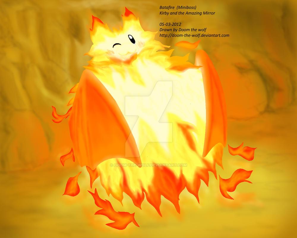 Batafire Kirby By Doom The Wolf On Deviantart