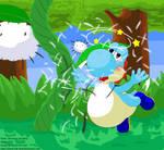 Yoshi - Eat fuzzy, get dizzy