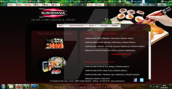Web Sushimania Bento by PatriciaCG