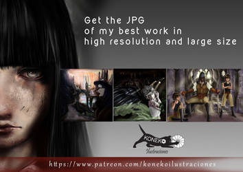 KONEKO ILLUSTRATIONS IN PATREON by PatriciaCG