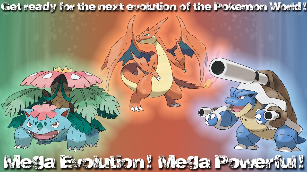 pokemon kanto starters mega - photo #22