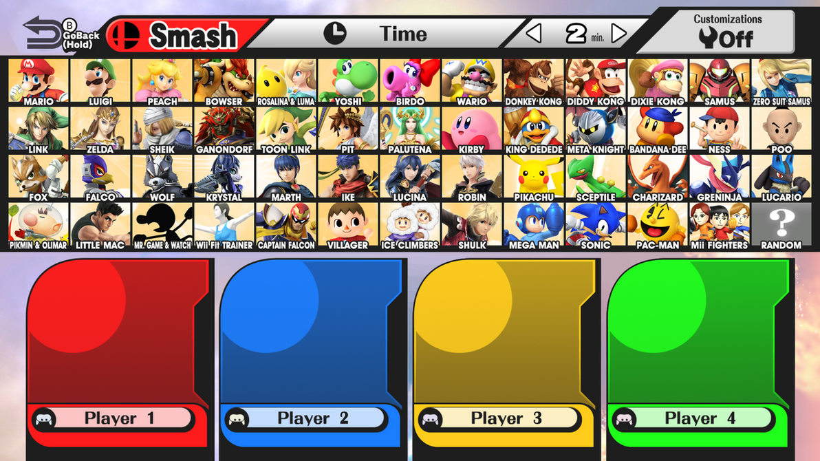 Super Smash Bros. Wii U - Fake Roster by R-One-92 on DeviantArt