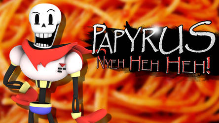Papyrus - Smash Bros Splash Card