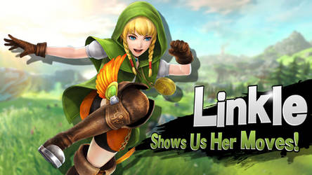 Linkle - Shows Us Her Moves!