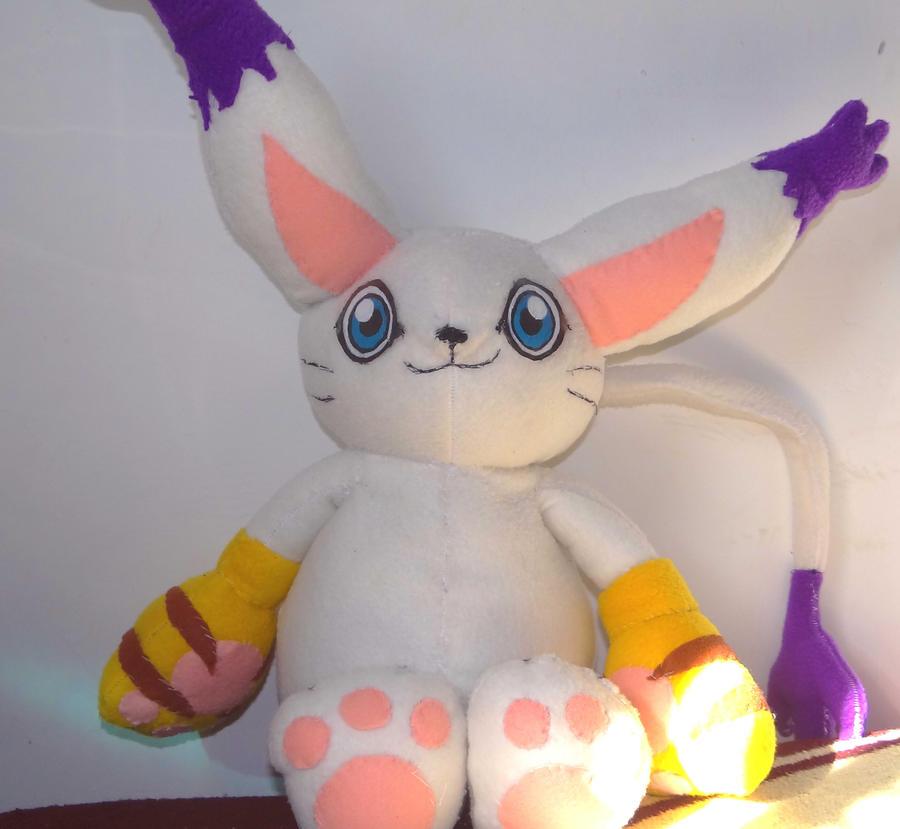 Gatomon Digimon Plush WIP by x-Charis-x
