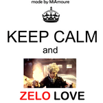 Keep Calm and -Zelo- by MiAmoure