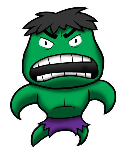 Marvel Hulk Chibi by WheatunRye on DeviantArt