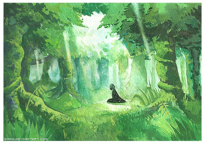 ROL:CI: EAS II //ARCO-2 [SAGA 2: Arca del Mundo. Un Sogukkense ¿entre nosotros?]\\ - Página 3 The_Eldrant_Forest_by_Qinni