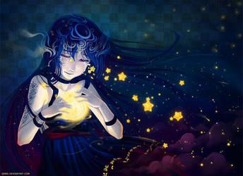 Night Goddess by Qinni