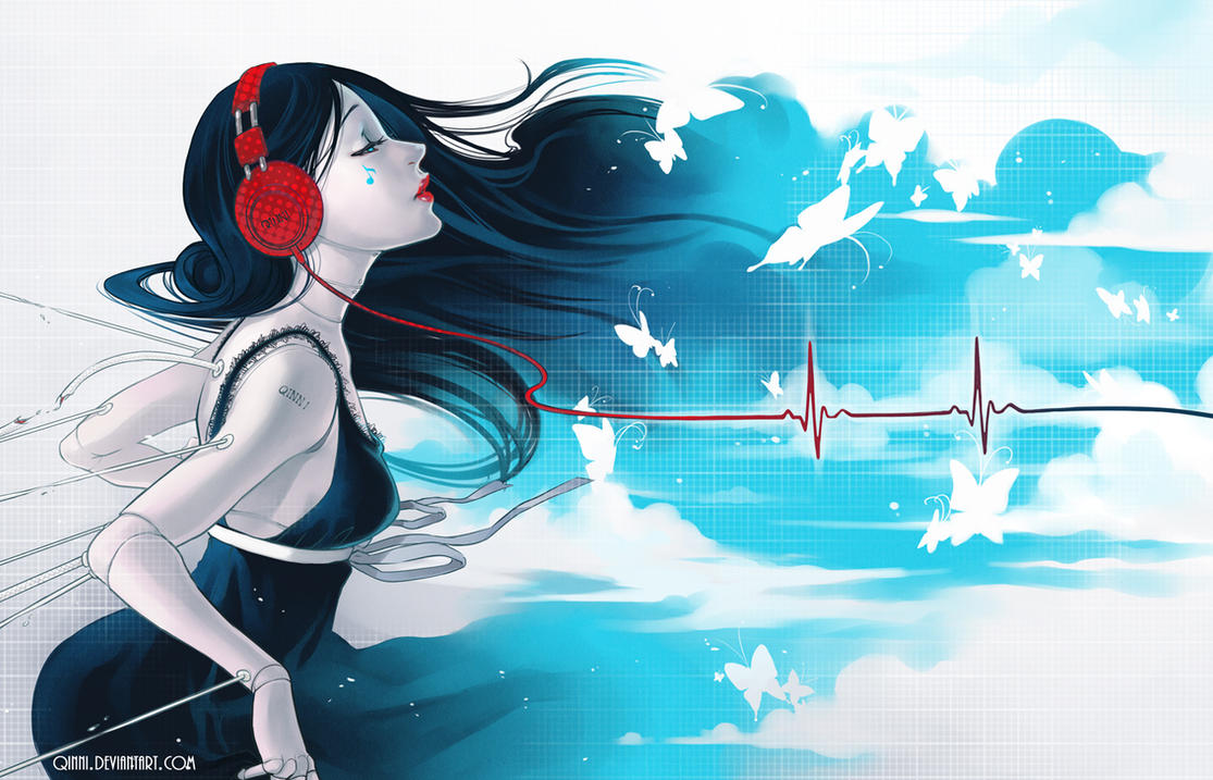 Enlightone: Music Is My Life By Qinni On DeviantArt