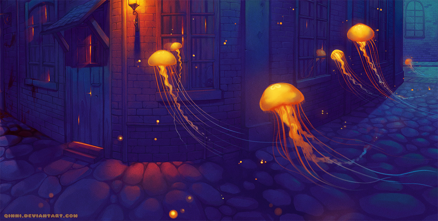 Jellyfish by Qinni