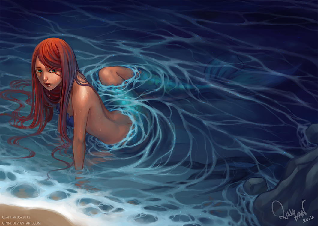 A Mermaid's Wish by Qinni