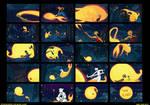 Night Light storyboards
