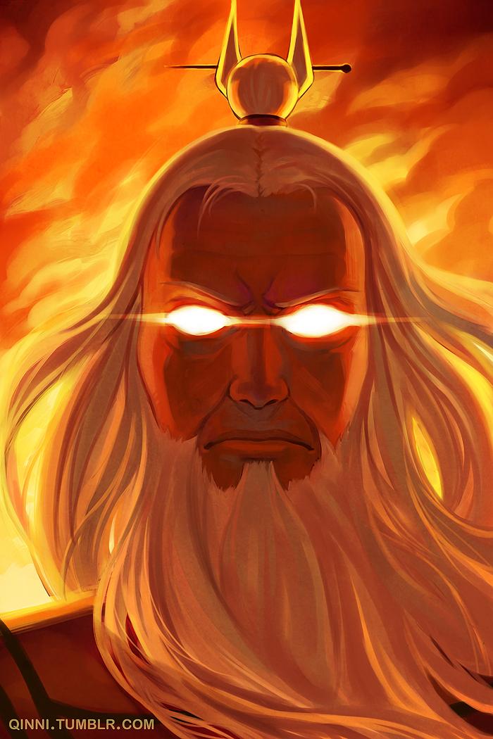 Avatar Roku by Qinni o...