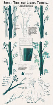Tree and Leaves Tutorial + Tips