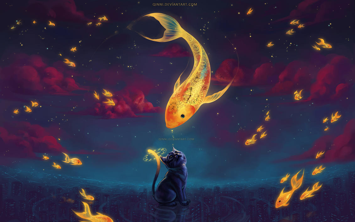 To Catch the Moonfish by Qinni