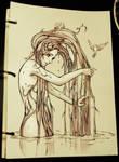 Bath Time by Qinni