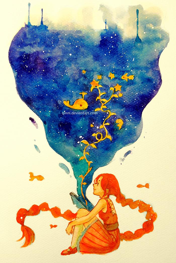 The Seed of Imaginatio... Imagination Artwork