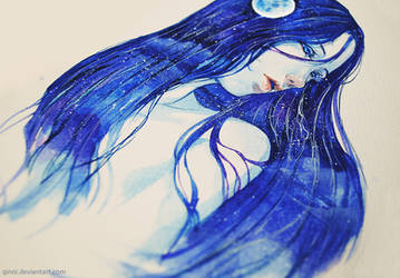 The Night Sky by Qinni