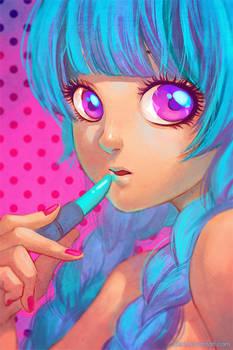 Radioactive Lipsticks