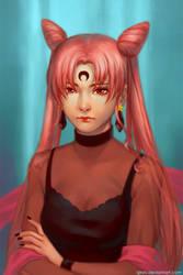 The Dark Lady by Qinni