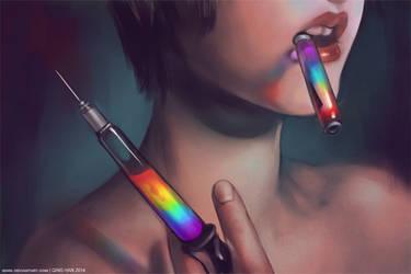 Art is my Drug by Qinni
