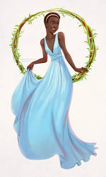 The Princess by Qinni