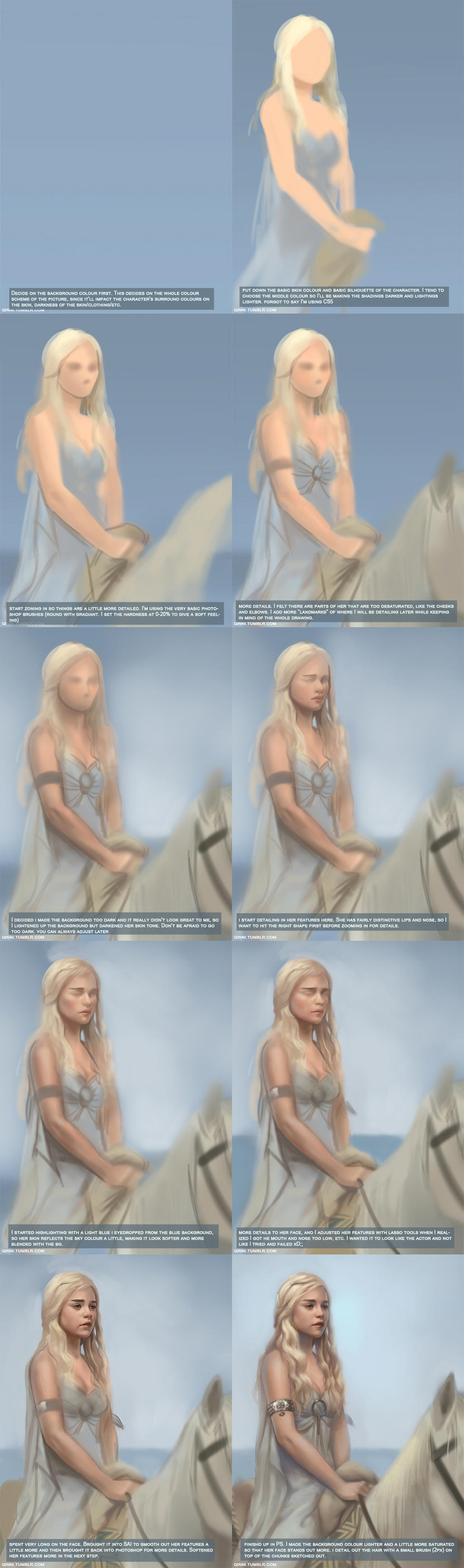 Daenerys Walkthrough by Qinni