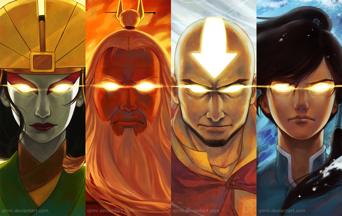The Avatars by Qinni
