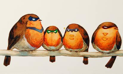 Robin Robins by Qinni