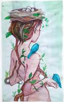 Tree Spirit by Qinni