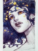 Burning Stars by Qinni