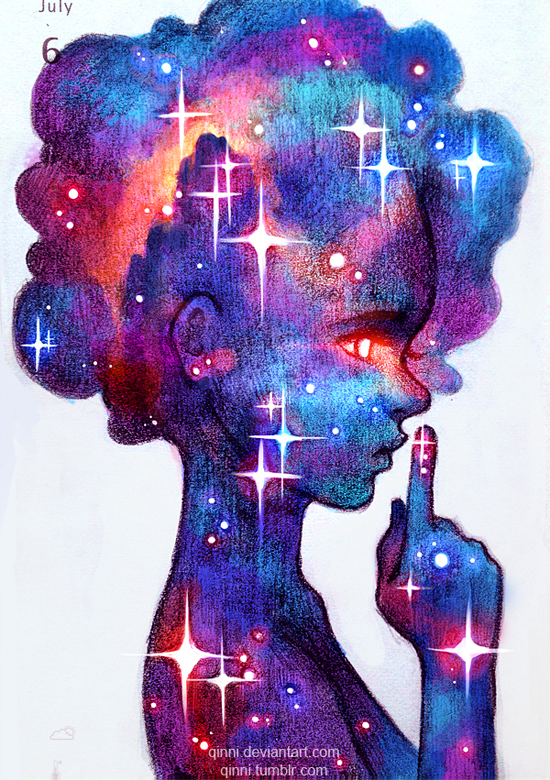 Secrets of the Cosmos by Qinni