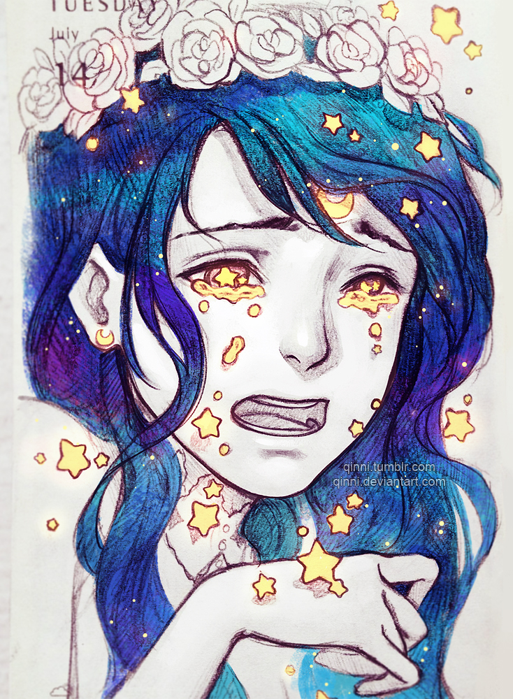 Falling Stars By Qinni On Deviantart