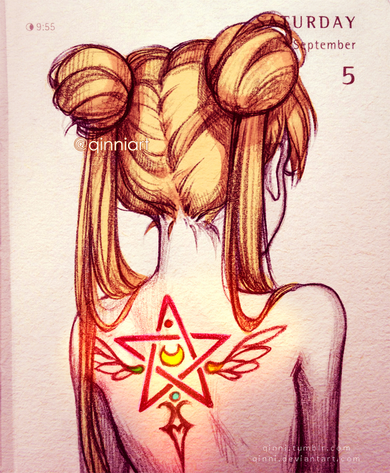 Magical Transformation Tattoo~ by Qinni