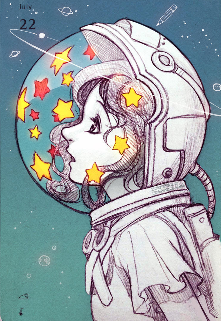 All of time and space by qinni on deviantart for Tumblr painting art