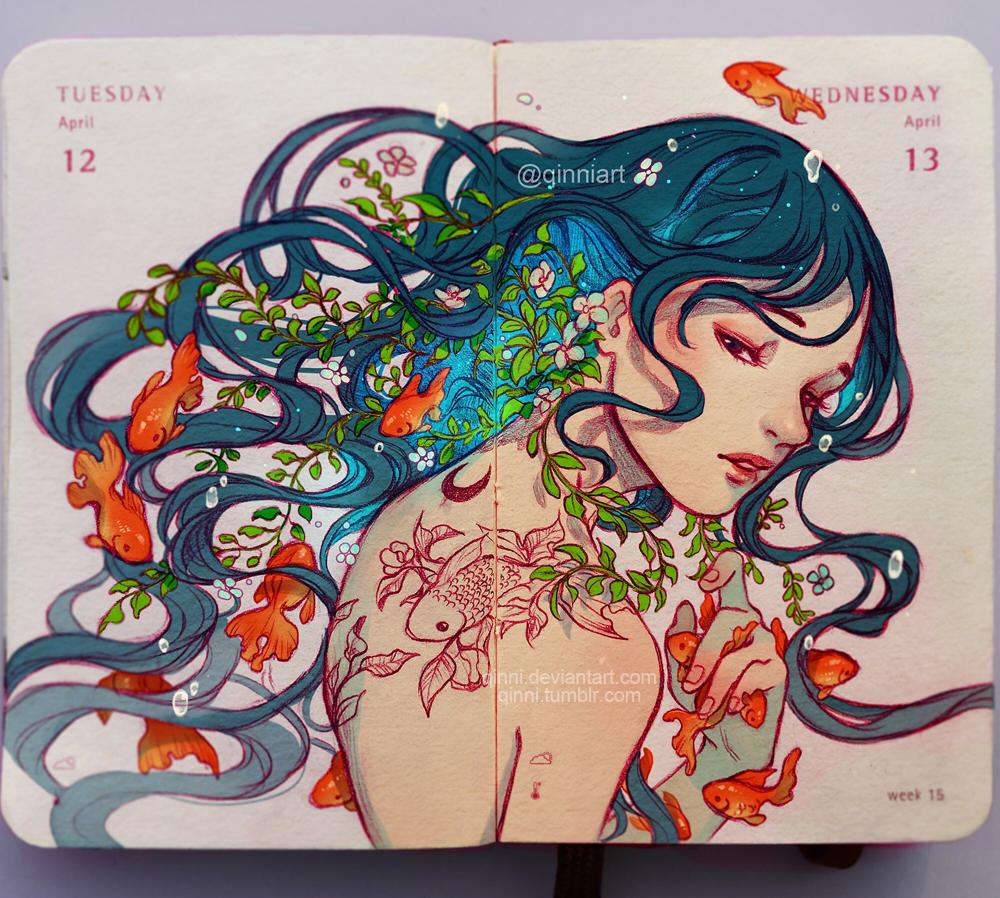 [Breath] by Qinni