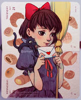 Kiki's Love Letter by Qinni