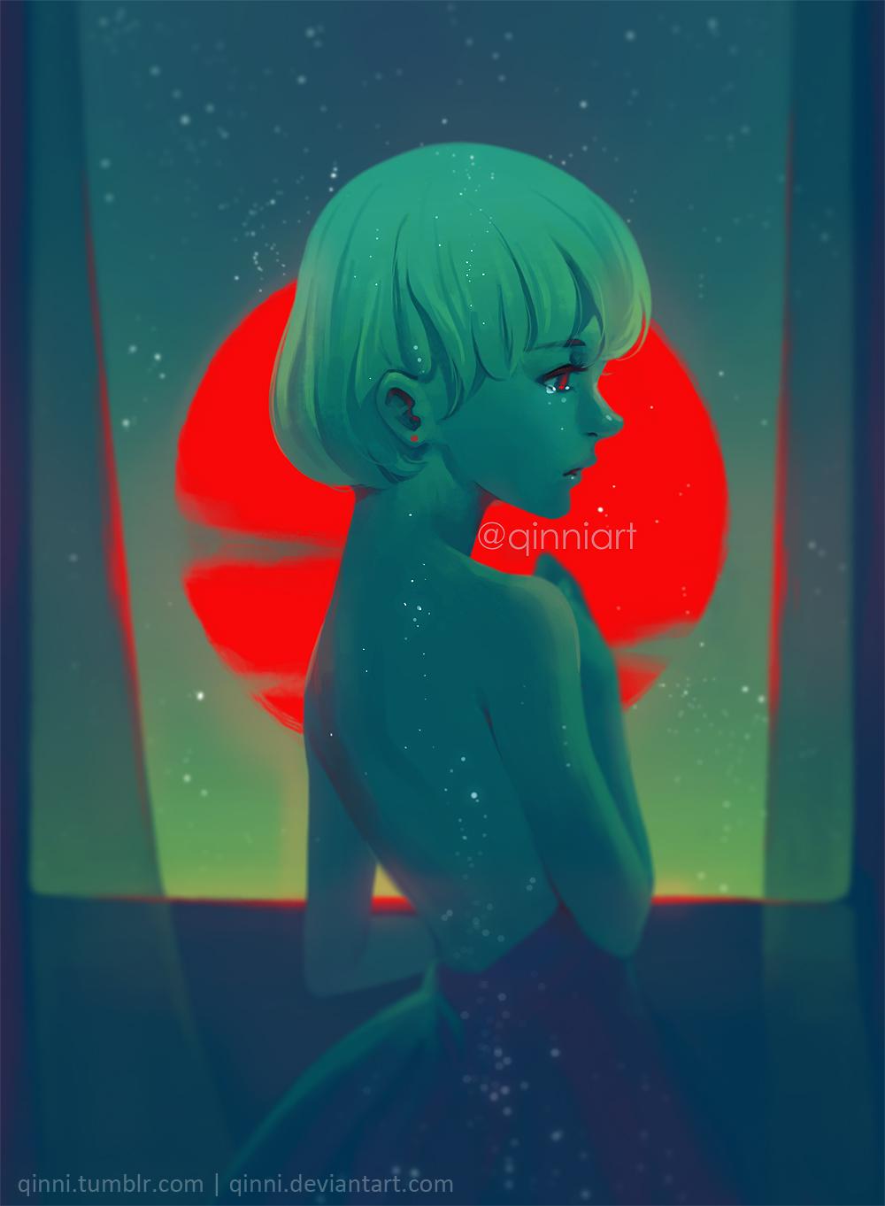 digital artwork by qinni on deviantart