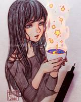 Starred Coffee~ by Qinni